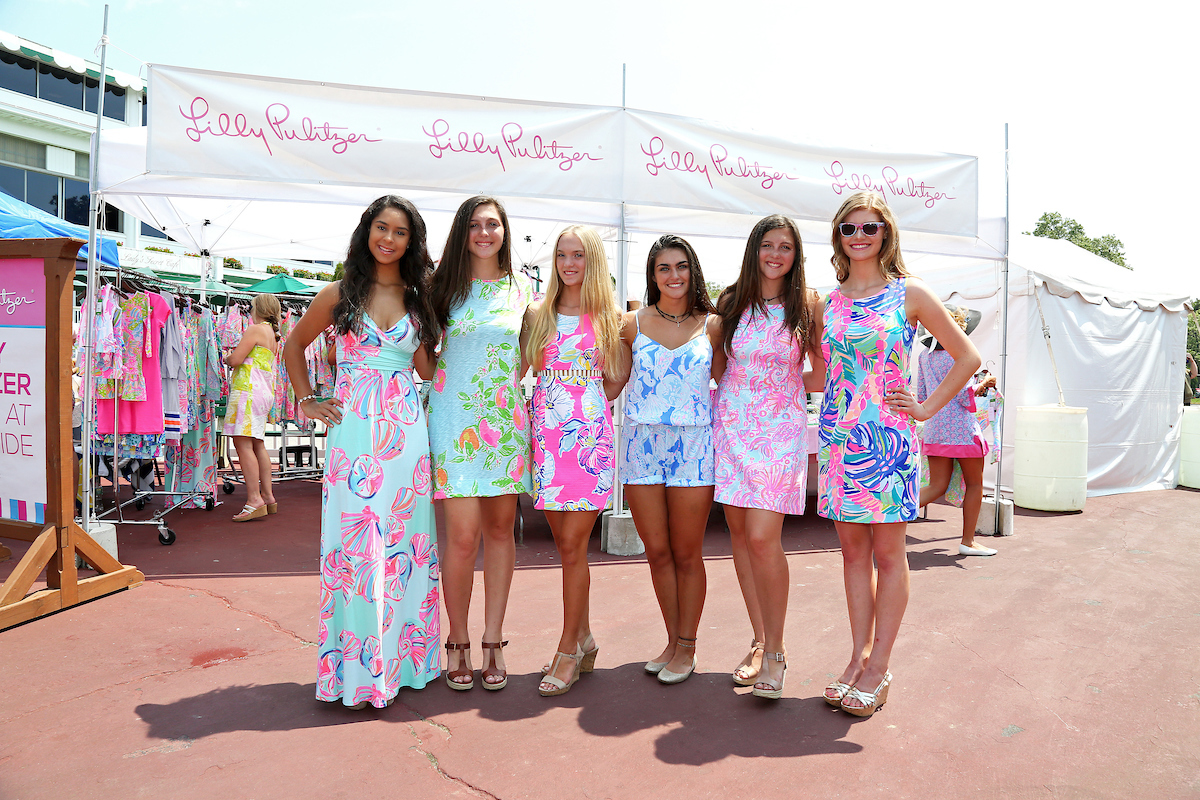 women wearing lilly pulitzer