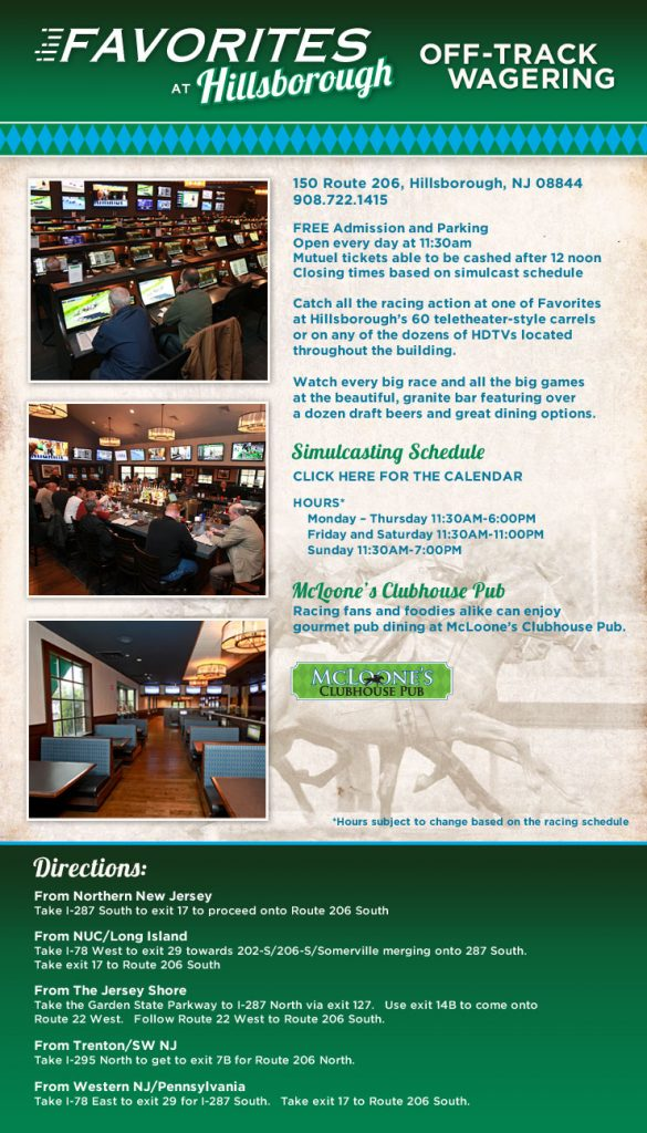 Racing Info - Monmouth Park