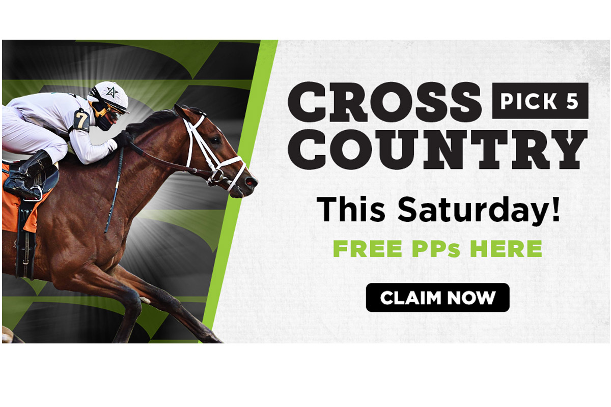 Three Monmouth Park Races Featured in Saturday's Cross Country Pick